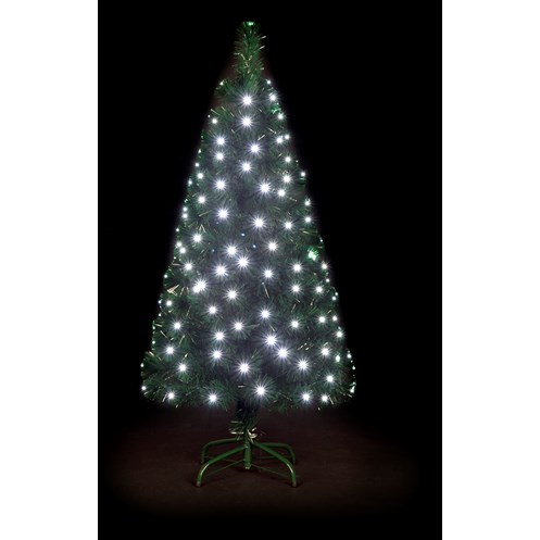 Snowtime  Snowbright White LED Christmas Tree - 4ft
