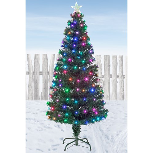 Snowtime  Snowbright Colour-Changing LED Christmas Tree - 5ft
