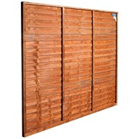 Wicklow Wood  Fence Panel - 6ft x 6ft