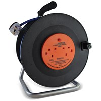 Safeline  Blue Artic Cable Reel With 13 Amp Plug - 40 Metre