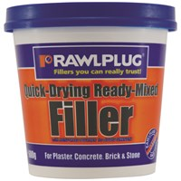 Rawlplug  Quick Drying Ready Mix Filler - 600g