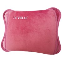 De Vielle  Rechargeable Hot Water Bottle - Pink